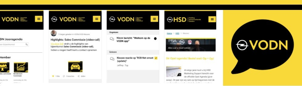 Download vandaag nog de officiële VODN/HSD app en blijf altijd en overal op de hoogte van de laatste ontwikkelingen binnen het Opel dealernetwerk!